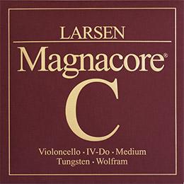 Larsen sc334242 チェロ弦 MAGNACORE マグナコア C弦 Medium 【バラ弦1本】 【ラーセン】