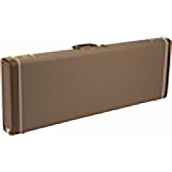 Fender G&G DELUXE HARDSHELL CASES - STRATOCASTER/TELECASTER Brown with Gold Plush Interior ハードケース エレキギター用 ストラト・テレキャス用 【フェンダー】