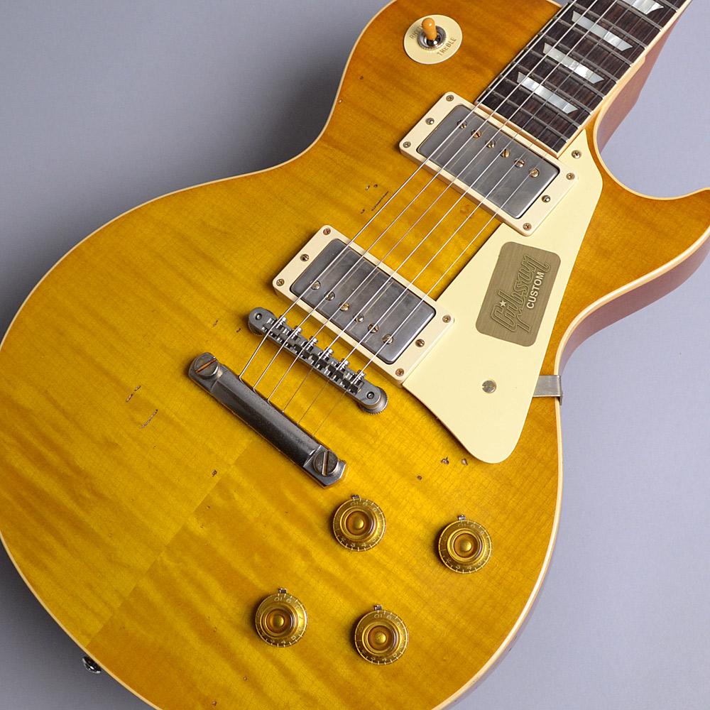 Gibson Custom Shop 2017 Limited Run 1958 Les Paul Model Hard Rock Maple Heavy Aged Dirty Lemon S/N:87593 レスポールスタンダード 【ギブソン カスタムショップ】