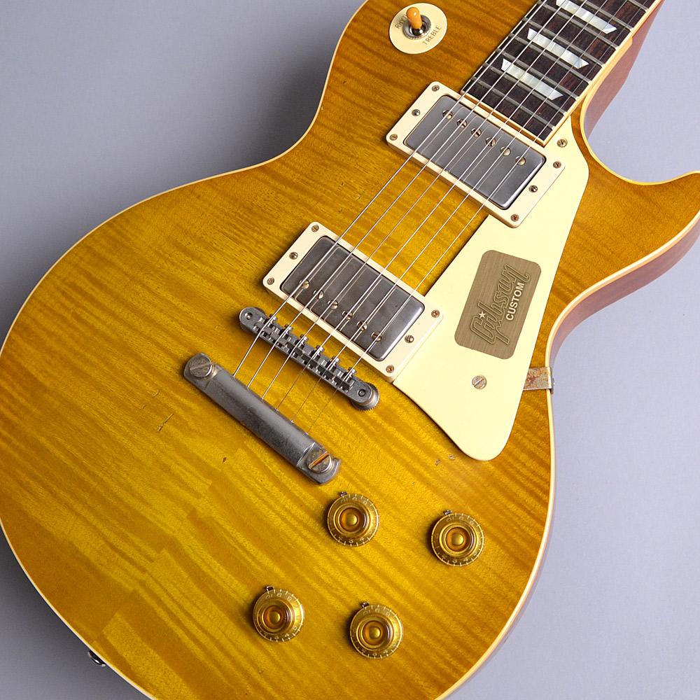 Gibson Custom Shop 2017 Limited Run 1958 Les Paul Model Hard Rock Maple Heavy Aged Dirty Lemon S/N:87847 レスポールスタンダード 【ギブソン カスタムショップ】