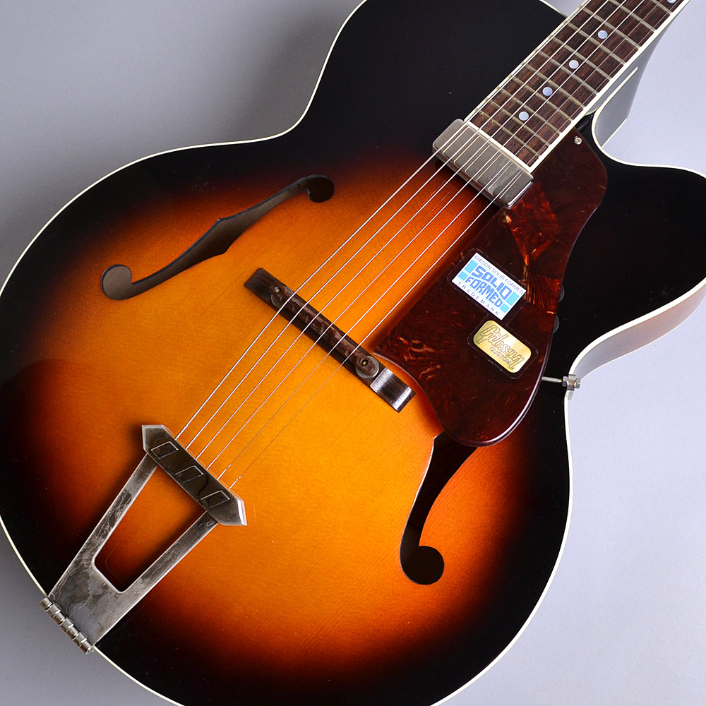 Gibson Custom Shop Solid Formed 17 Venetian Cutaway Cremona Burst S/N:SF160105 アーチトップギター フルアコ 【ギブソン カスタムショップ】【新品特価】
