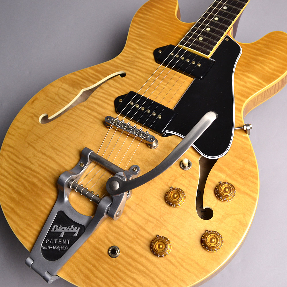Gibson Memphis Limited Run 1961 ES-330TDN Figured VOS Dark Vintage Natural S/N:Q12446 ES330 フルアコギター 【ギブソン メンフィス】