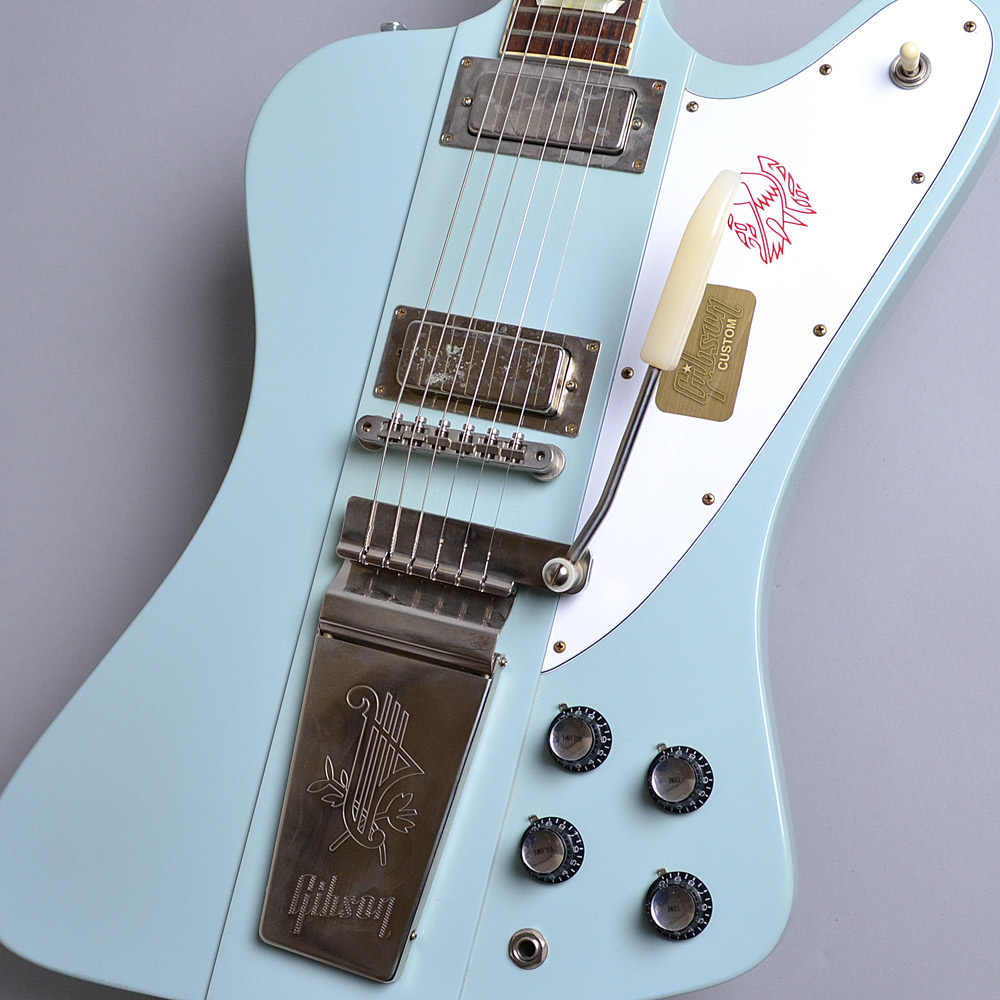 Gibson Custom Shop Limited Run 1965 Firebird V Reissue VOS Frost Blue S/N:160195 ファイヤーバード 【ギブソン カスタムショップ】