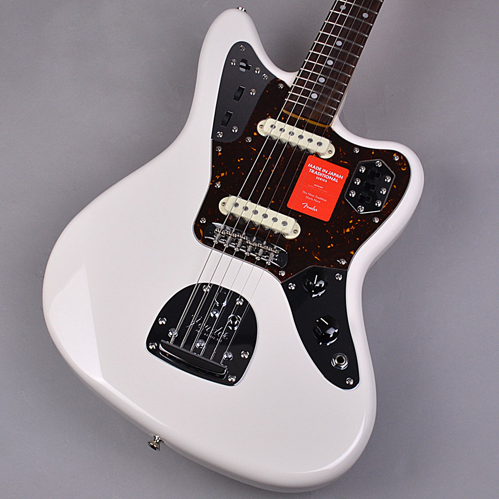 Fender Made in Japan Traditional 60s JAGUAR Arctic White 【フェンダー 白ジャガー】【未展示品・専任担当者による調整済み】
