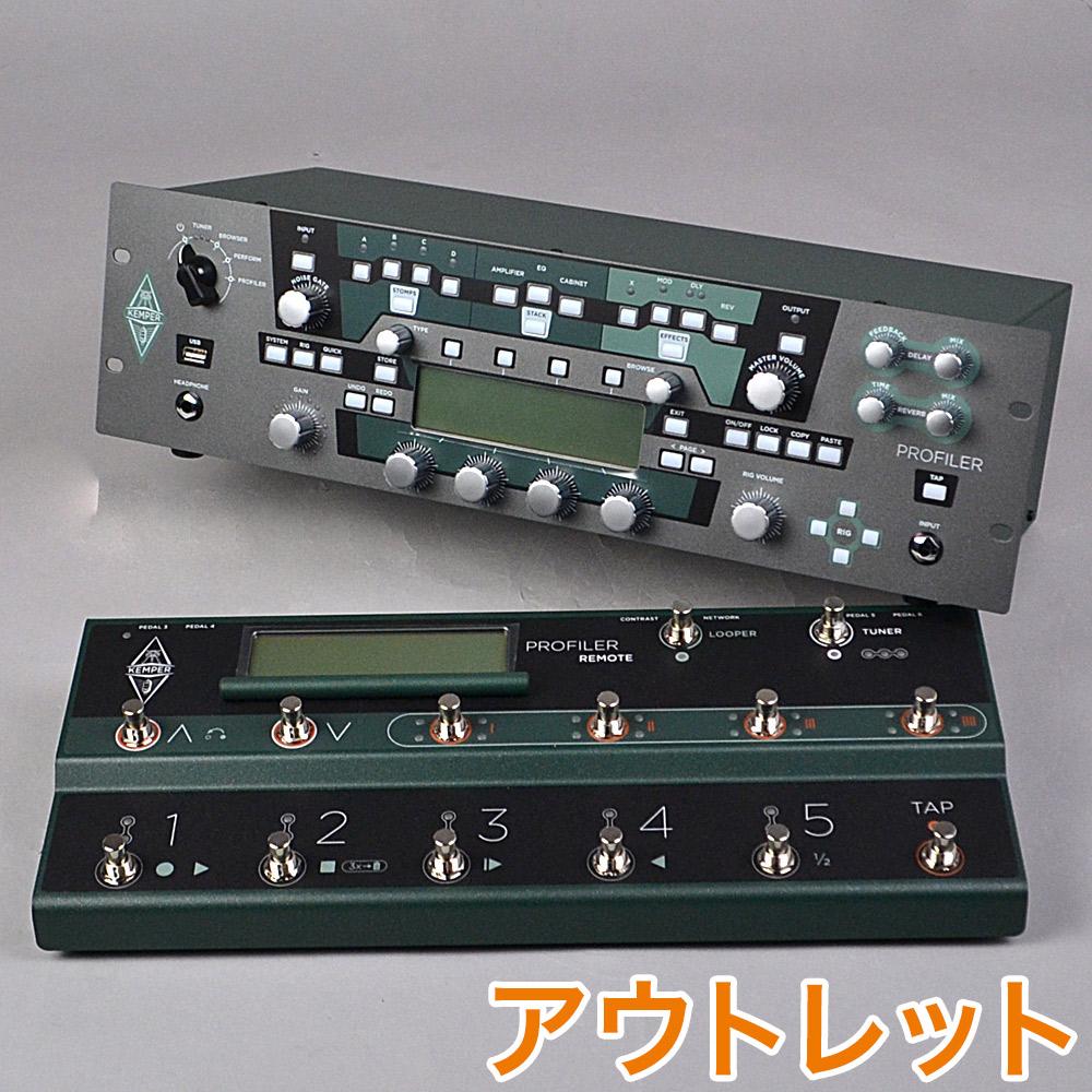 KEMPER RACK + REMOTE プロファイリングアンプ+フットコントローラー 【ケンパー】【アウトレット】