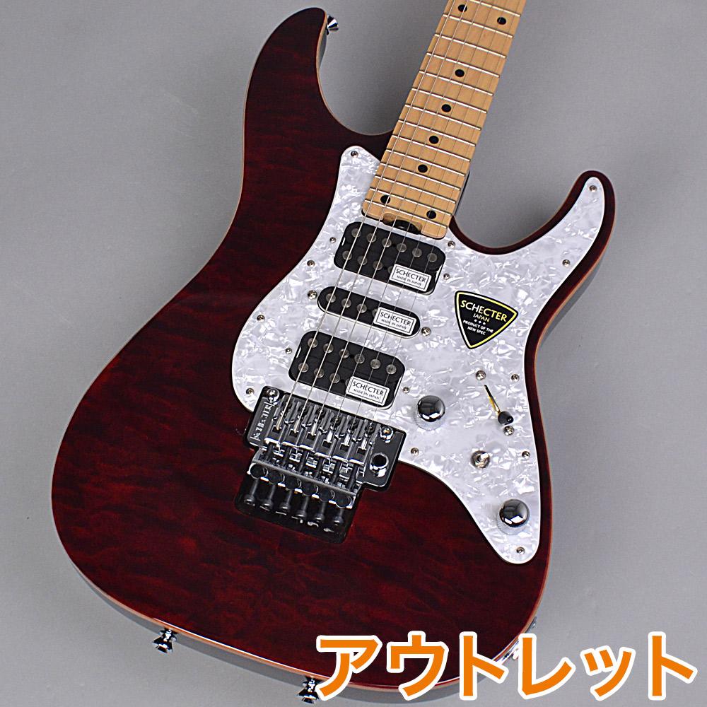 SCHECTER SD-2-24-AL RED エレキギター 【シェクター SD2-24-AL】【りんくうプレミアムアウトレット店】【アウトレット】
