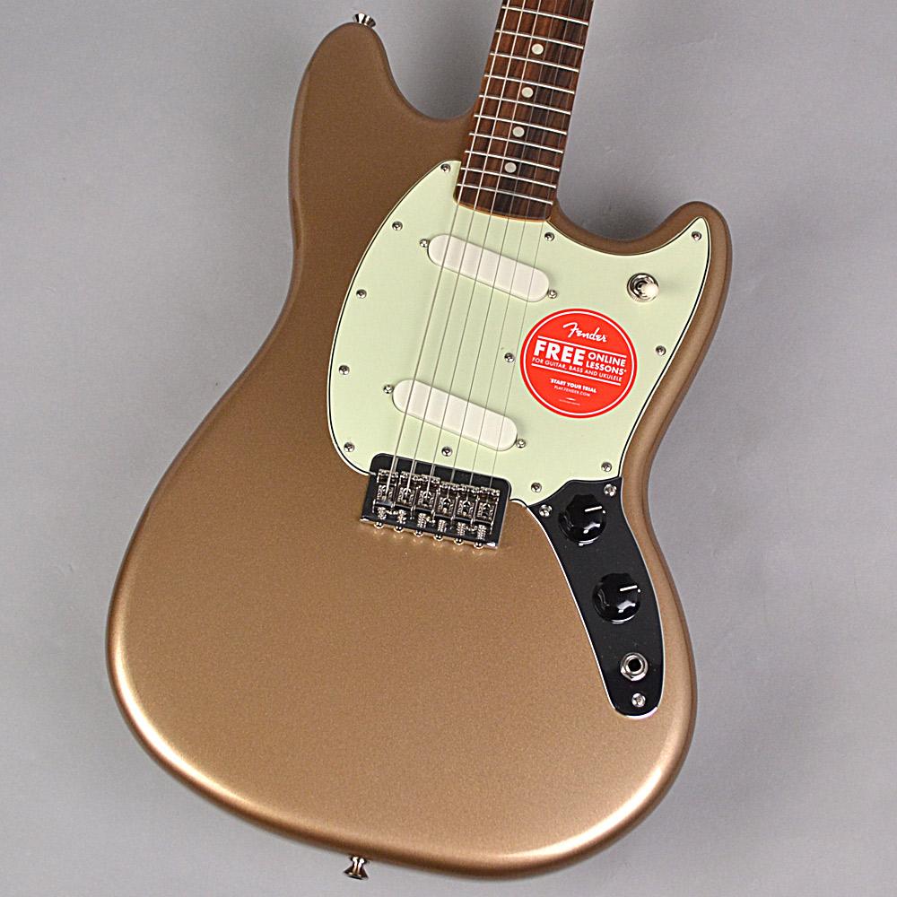 Fender Mustang Firemist Gold エレキギター 【フェンダー プレイヤームスタング】【未展示品・専任担当者による調整済み】