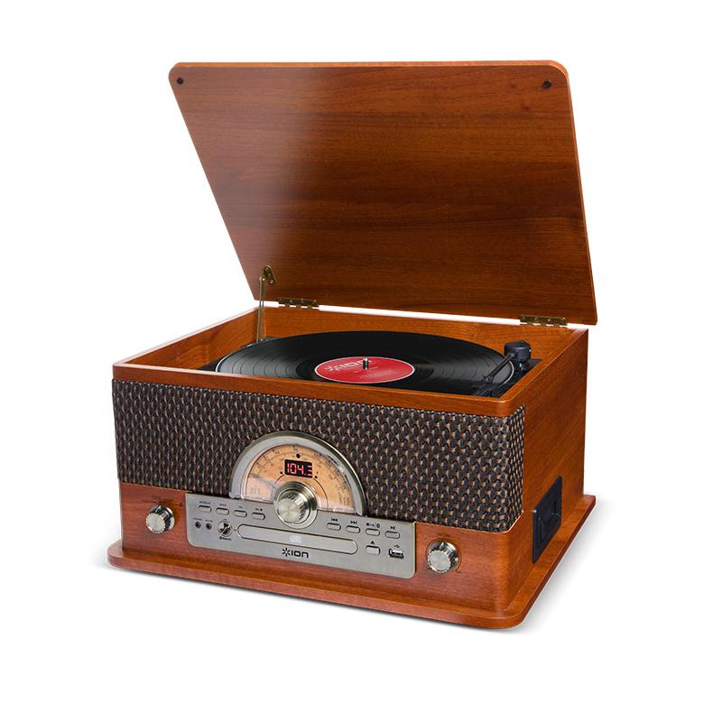 ラジオ 【アイオンオーディオ】【津田沼パルコ店】 CD Bluetooth対応 LP / / ION AUDIO レトロ調 レコードプレーヤー 【 カセットテープ USB】対応 Superior /
