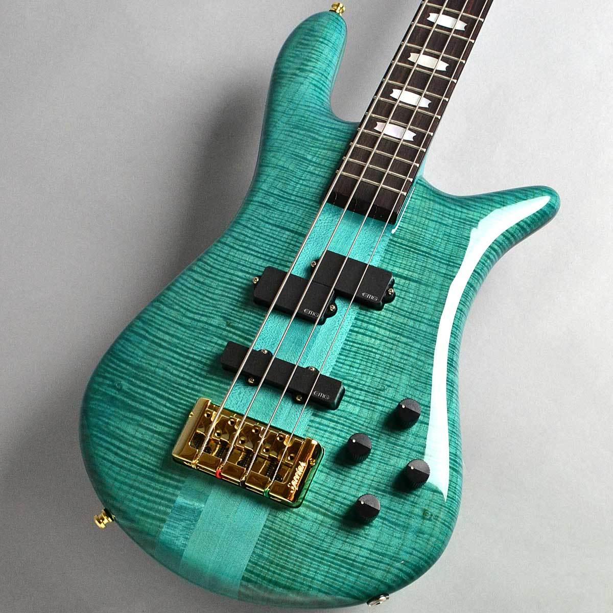 Spector EURO 4 LX Premium Wood/Peacock Blue Gloss エレキベース(4弦) 【スペクター】【新宿PePe店】【長期店頭展示品特別価格】