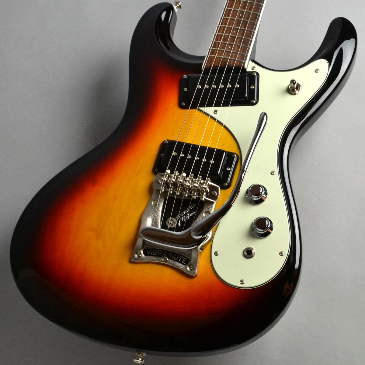 mosrite Sunburst Super Custom Custom 65 Sunburst w mosrite/C-230 エレキギター/C-230ハードケース付属【モズライト】【新宿PePe店】, 野尻町:982f744a --- sunward.msk.ru