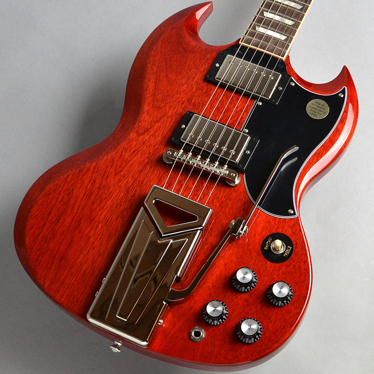 Gibson SG Standard '61 Sideways Vibrola/Vintage Cherry 2019 エレキギター 【ギブソン】【新宿PePe店】