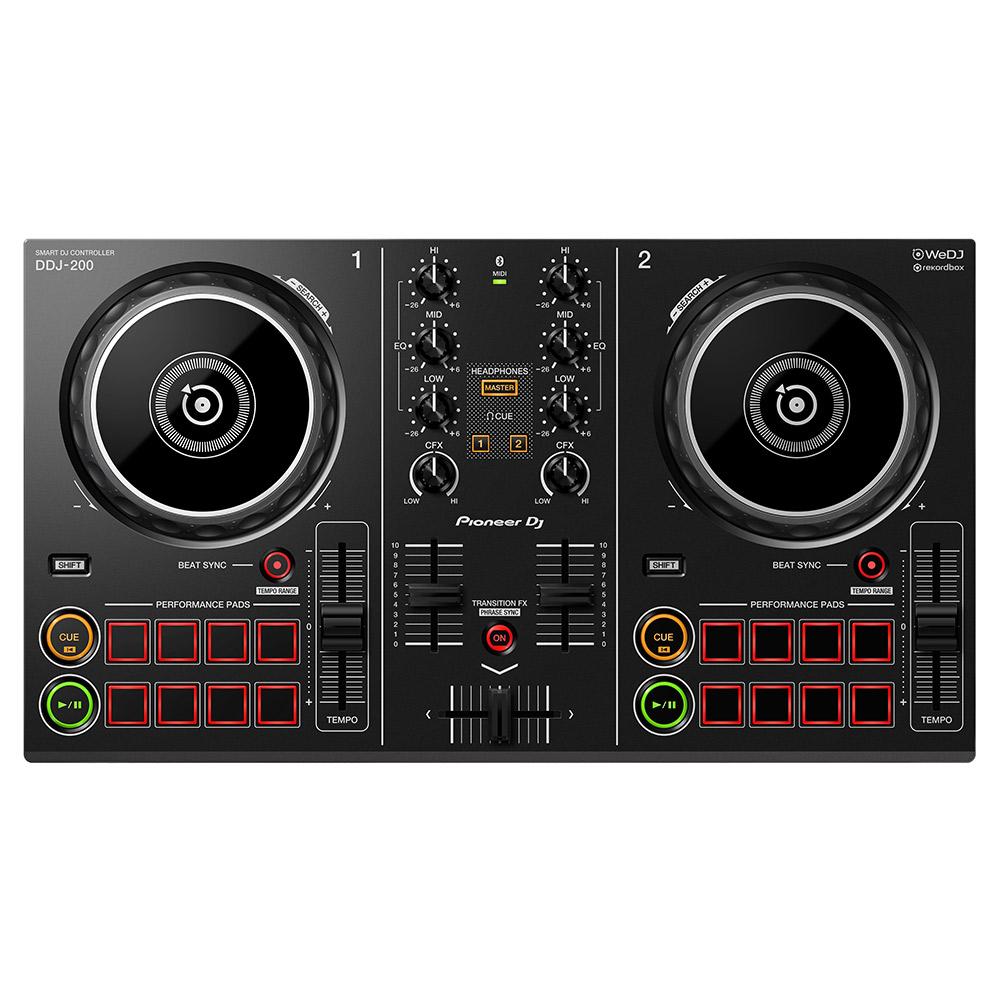 Pioneer DJ DDJ-200 スマートDJコントローラー 【パイオニア DDJ200】【津田沼パルコ店】