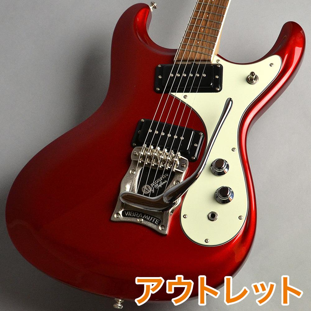 mosrite Super Custom 65 / Metallic Red エレキギター/C-230 ケース付き 【モズライト】【新宿PePe店】