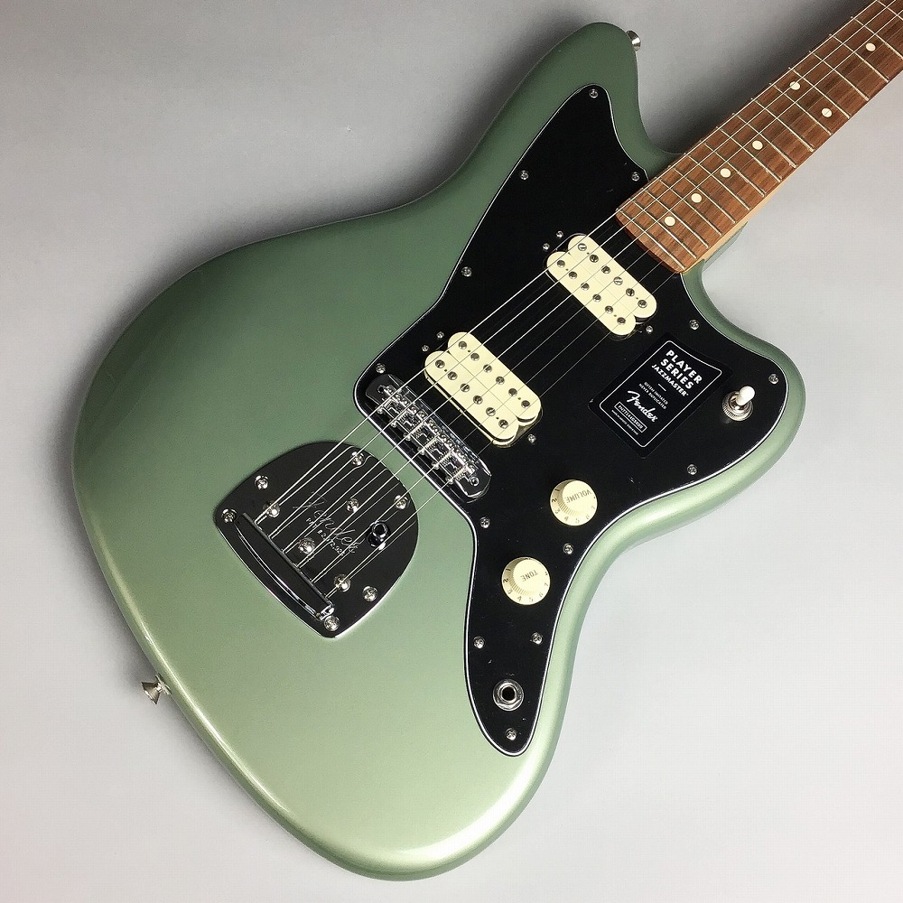 Fender Player Jazzmaster Pau Ferro Fingerboard/Sage Green Metallic #MX18212595 エレキギター 【フェンダー ジャズマスター】【錦糸町パルコ店】