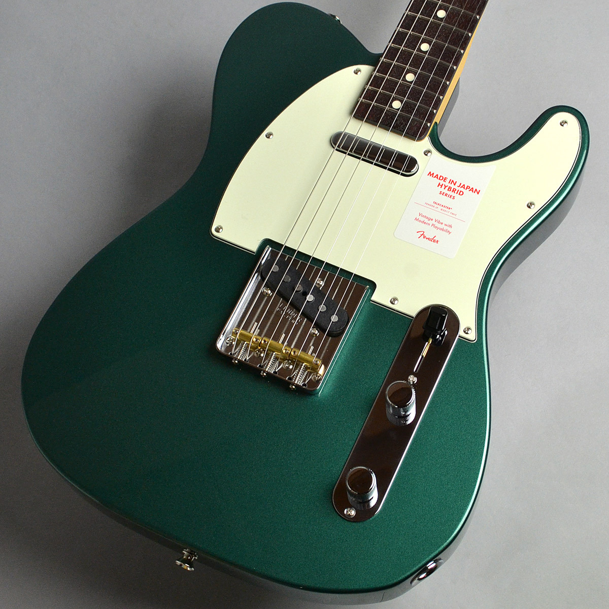 Fender Made in Japan Hybrid 60s Telecaster/Sherwood Green Metallic エレキギター 【フェンダー】【新宿PePe店】