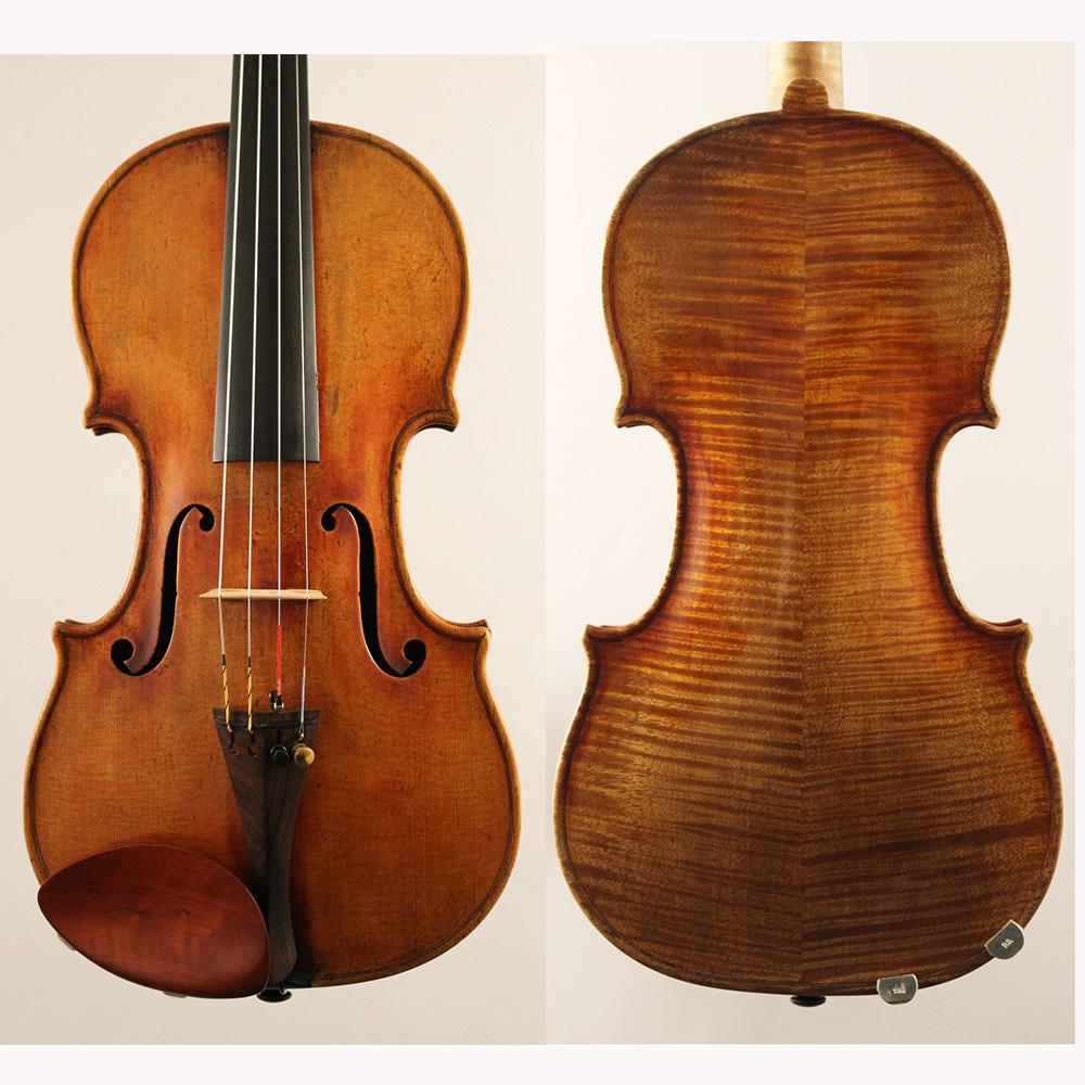 Alexandre Breton(アレクサンダー・ブレトン) 当社買付ヴァイオリン 【 Germany  Berlin, 2018】【シマムラストリングス秋葉原】