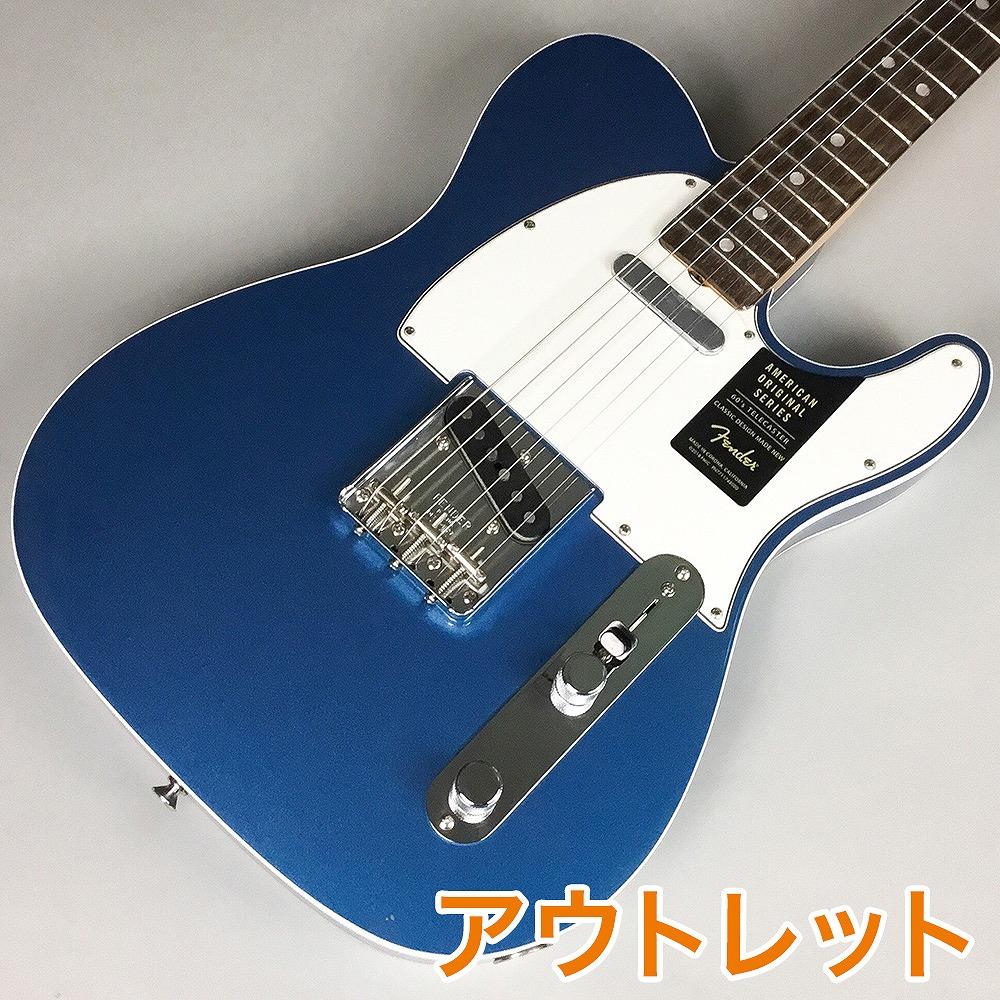 Fender American Original '60s Telecaster/Lake Placid Blue ♯V1860807 エレキギター 【フェンダー】【錦糸町パルコ店】【アウトレット】