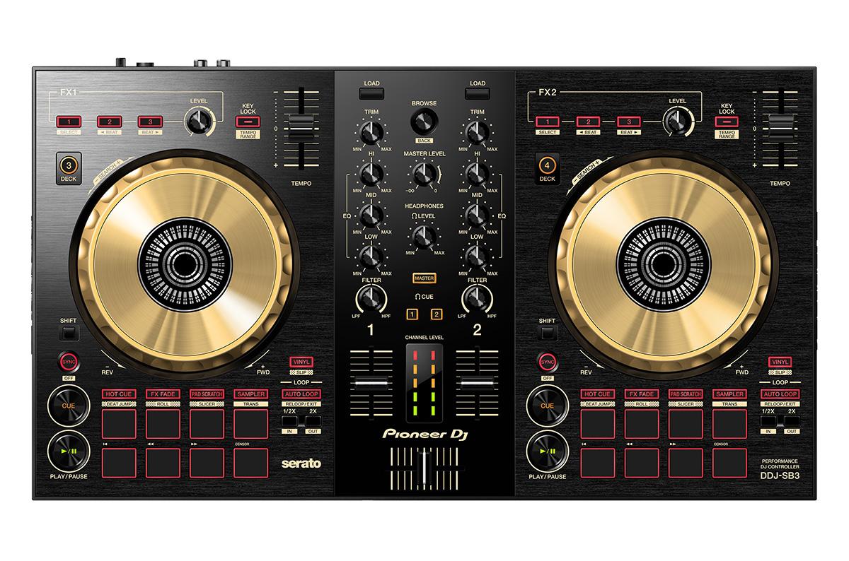 Pioneer DJ DDJ-SB3-N ゴールド DJコントローラー 【パイオニア】【津田沼パルコ店】