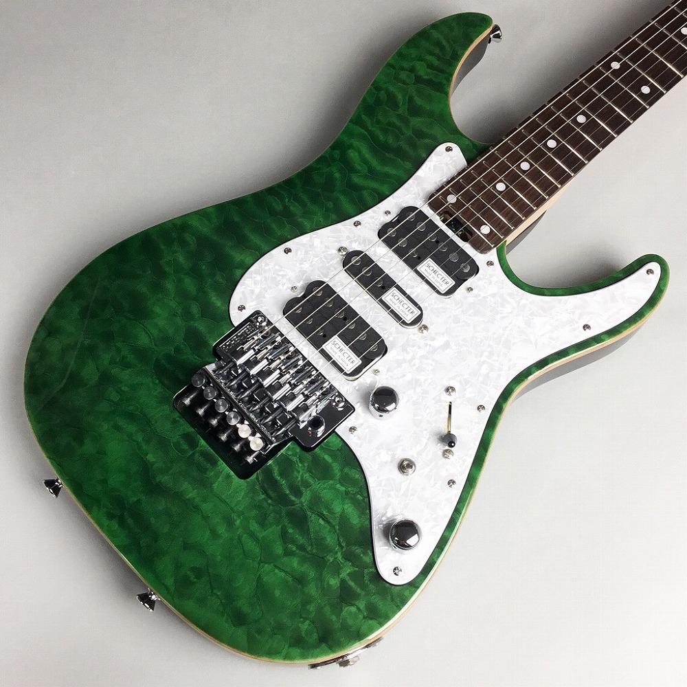SCHECTER SD-2-24-AL/See-Thru Green #S1808084 エレキギター 【シェクター】【錦糸町パルコ店】