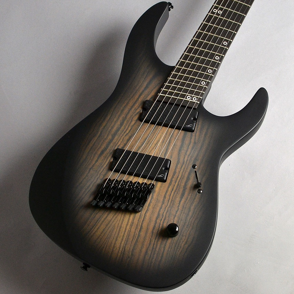 Legator NRF7P/Ninja Reverse Headstock Fanned Fret 7/Black Burst エレキギター(7弦) 【レガター】【新宿PePe店】