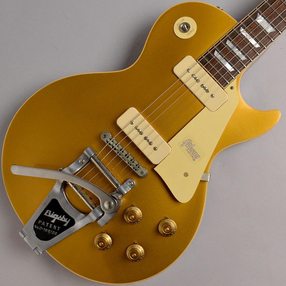 【クリアランスセール】 Gibson Custom Shop 1956 LES PAUL REISSUE HRM GOLD TOP VOS w/BIGSBY #68145 エレキギター 【ギブソン カスタムショップ】【イオンモール幕張新都心店】