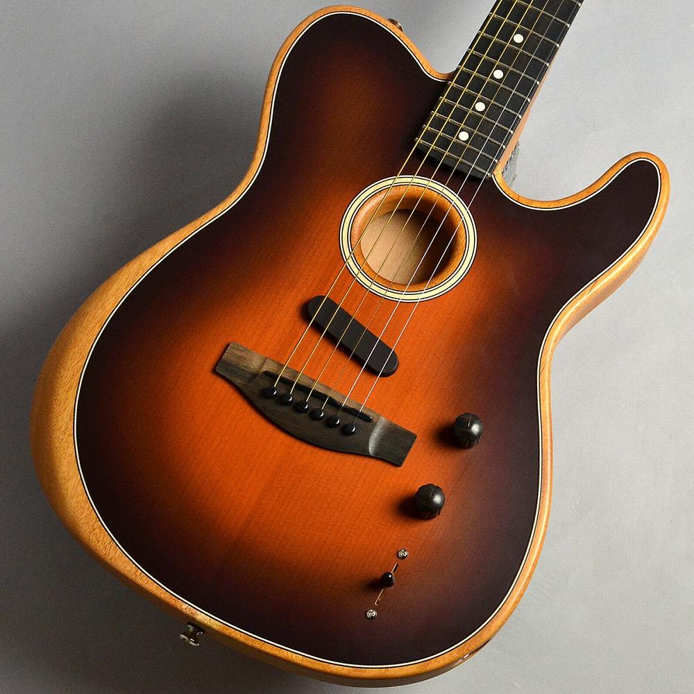 Fender Acoustasonic Telecaster/Sunburst エレアコギター 【フェンダー アコースタソニック】【新宿PePe店】