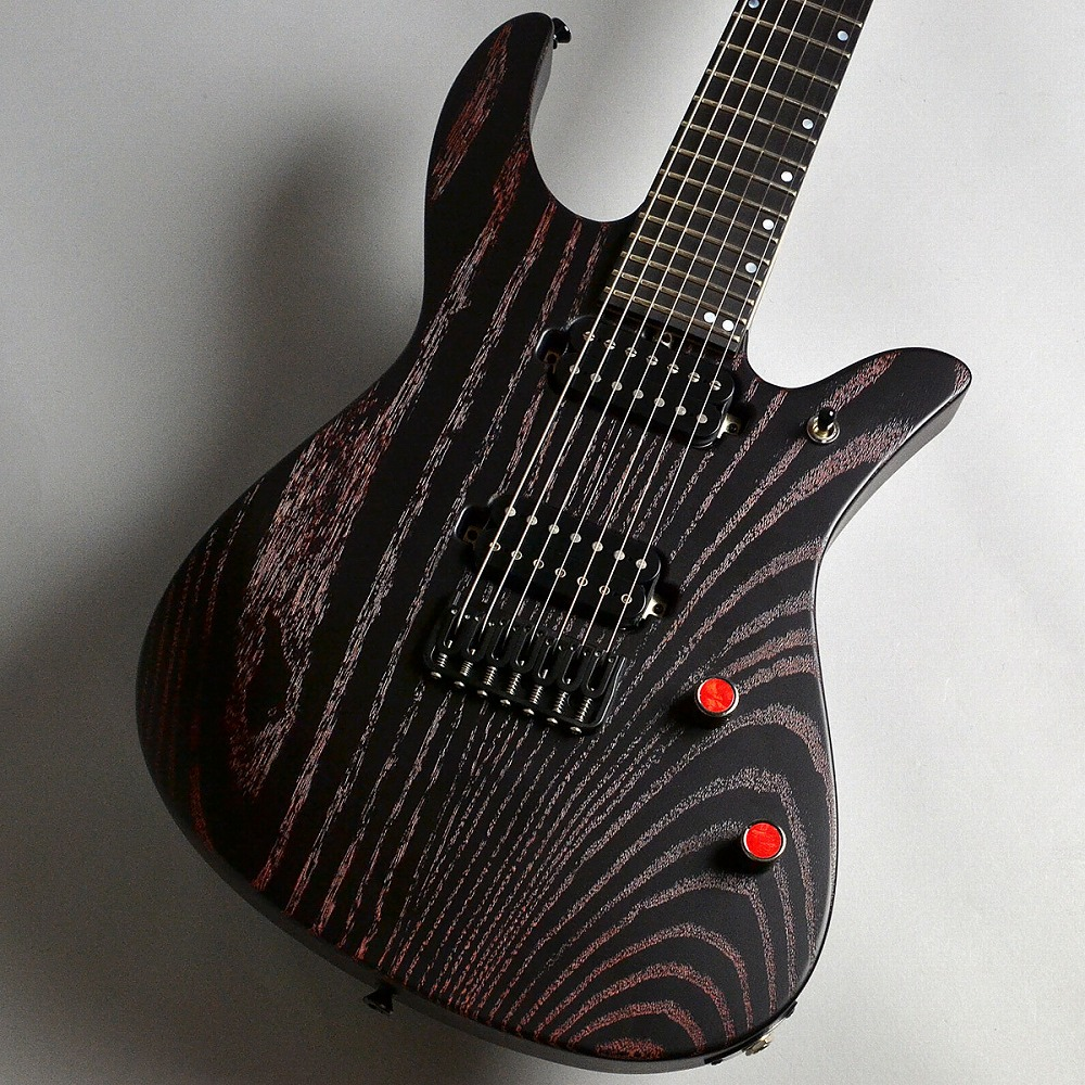Crews Maniac Sound Solution R7 Ash Custom Red Knot エレキギター 【クルーズ カスタムモデル】【新宿PePe店】