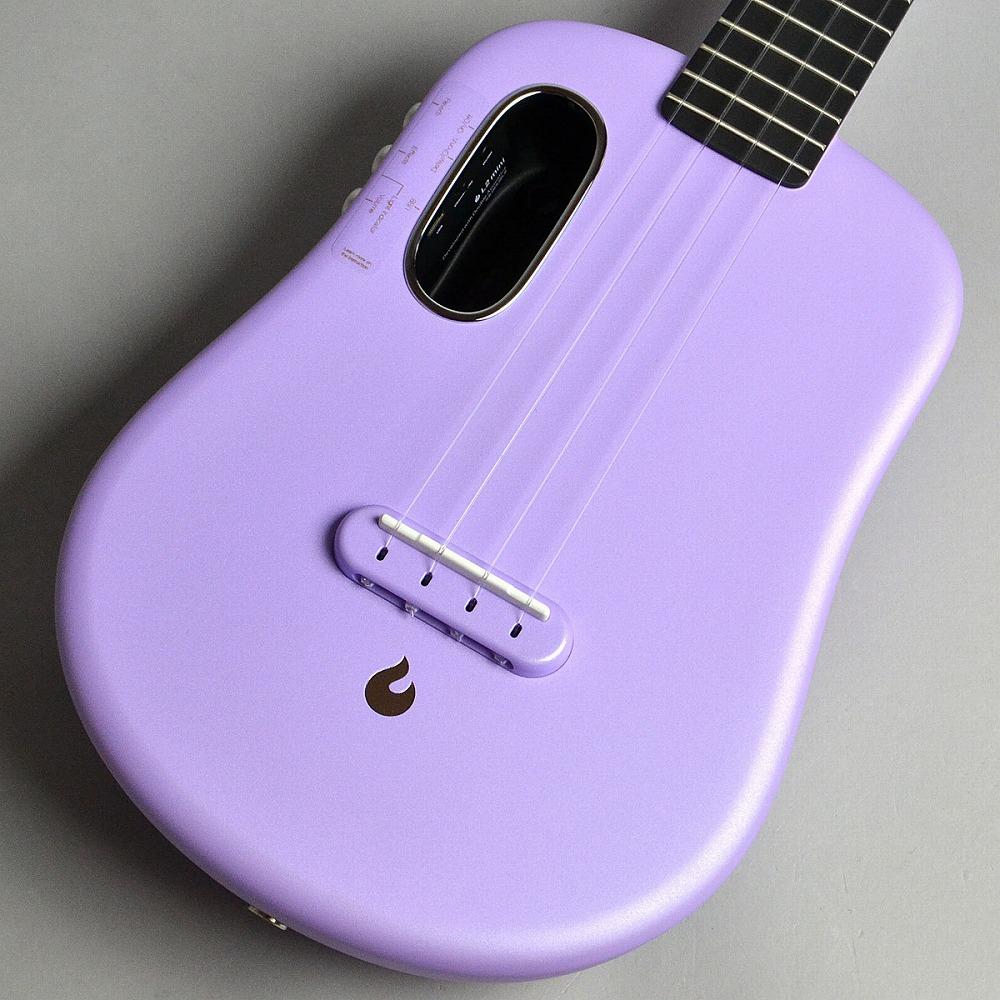 LAVA Music LAVA U 23インチ FreeBoost/Sparkle Purple コンサートウクレレ 【ラヴァミュージック】【新宿PePe店】