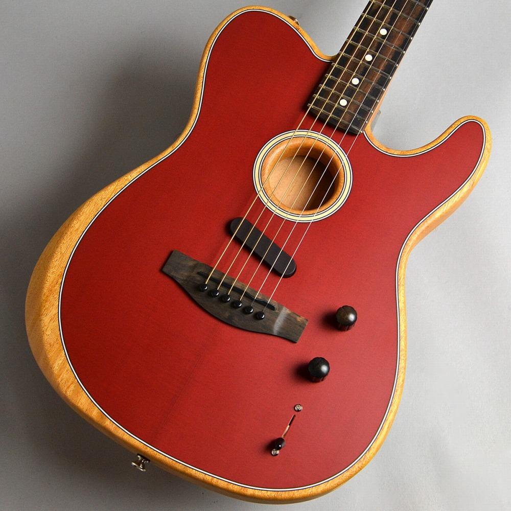 Fender Acoustasonic Telecaster/Crimson Red アコースタソニック 【フェンダー】【新宿PePe店】