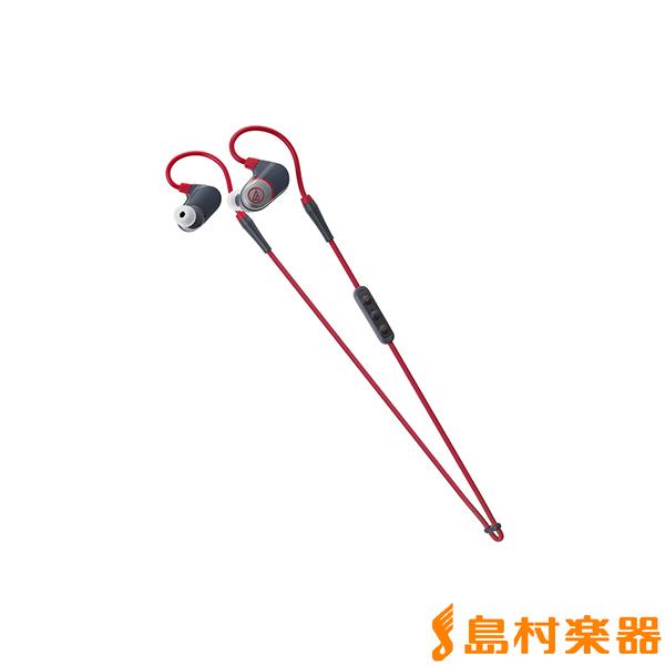 audio-technica ATH-SPORT4 RD ワイヤレスステレオヘッドセット レッド 【オーディオテクニカ】
