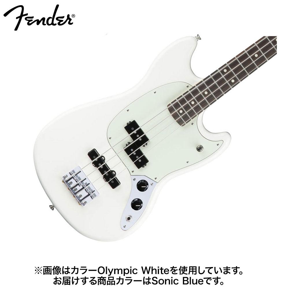 Fender Mustang Bass PJ Sonic Blue エレキベース 【フェンダー】