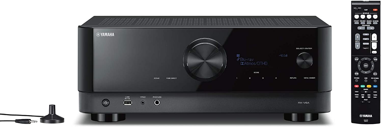 ランキングTOP10 7.1ch 5☆大好評 Dolby Atmos DTS:X 4K 120Hz Amazon B YAMAHA Alexa ブラック 黒鏡面仕上げのシンプルデザイン Music RX-V6A