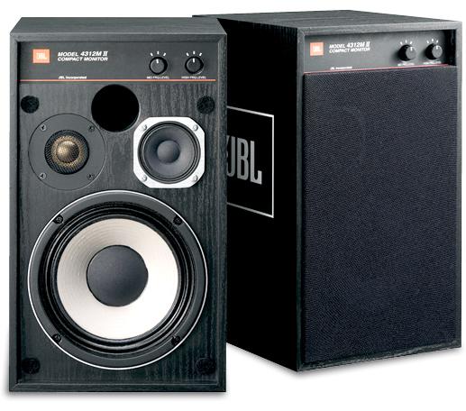JBL 4312M II BK(ペア)JBLスピーカーケーブルJSC450×5m付!