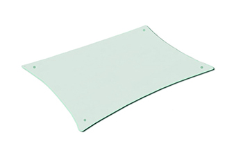 QUADRASPIRE Q4D/GL/BK(ガラス)追加棚板Q4D用