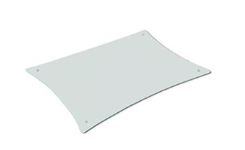 QUADRASPIRE Q4D/BG/BK(スリガラス)追加棚板Q4D用