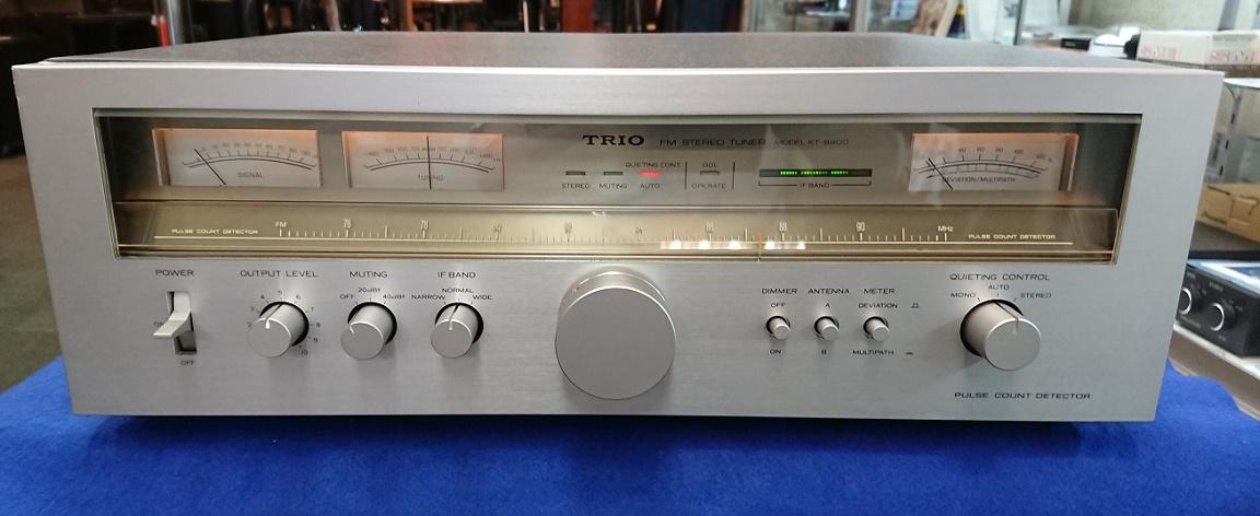 中古品 WEB限定 10%OFF TRIO KT-9900