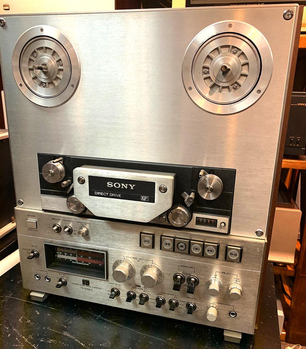 【ジャンク品】SONY TC-8750-2 (2トラック/38cm/19cm)