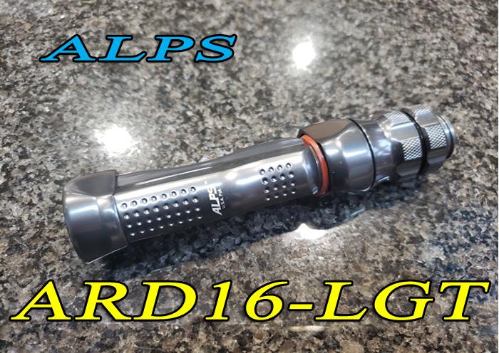休日 ロッドビルディングを楽しもう ALPS アルプス ARD16-LGT アルミリールシート 無料