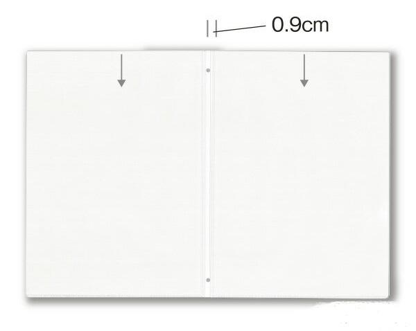 商売繁昌 ページが増える SHIMBI 中ビニール 紙なし ビニール-76 a4 大決算セール JZ-123用 追加ページ 2020A/W新作送料無料 A4サイズ 2穴 クリアポケット