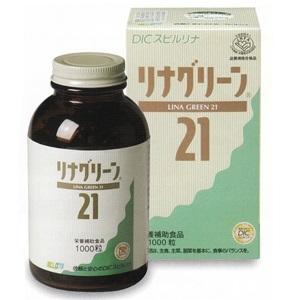 【DICスピルリナ】リナグリーン21(1000錠)