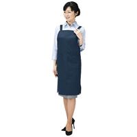 【サンワサプライ】 OAエプロン APR-ECO1K ネイビー★お得な10個パック