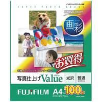 【富士フィルム】 画彩 写真仕上げValue WPA4100VA A4 100枚★お得な10個パック