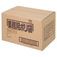 【日本サニパック】 △ポリゴミ袋 N-73 透明 70L 10枚 40組★ポイント10倍★