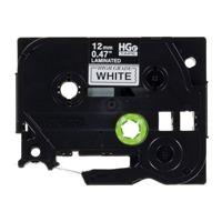 【ブラザー】 ハイグレードテープHGe-231V白に黒12mm5個★お得な10個パック