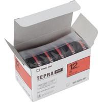 【キングジム】 PROテープ カラーラベル(赤) SC12R-5P★お得な10個パック