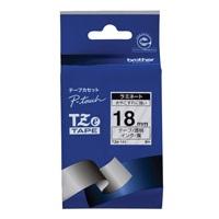 【ブラザー】 文字テープ TZe-141透明に黒文字 18mm★お得な10個パック