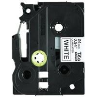 【ブラザー】 文字テープ TZe-251V白に黒文字 24mm 5個★お得な10個パック