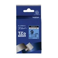 【ブラザー】 文字テープ TZe-521青に黒文字 9mm★お得な10個パック