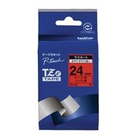 【ブラザー】 文字テープ TZe-451赤に黒文字 24mm★お得な10個パック