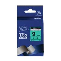 【ブラザー】 文字テープ TZe-721緑に黒文字 9mm★お得な10個パック